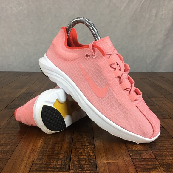 Nike Mayfly Lite SI Sneakers Shoes Running Bright Melon 881196-800 Womens Size 6